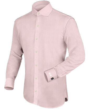 Chemise Personnalis�e with English Collar
