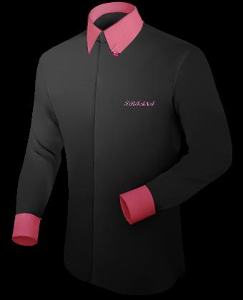 Mettre En Vente Des Chemises Pour Hommes with Hidden Button