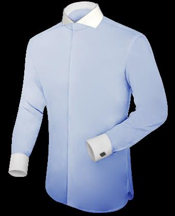 Nouvelles Chemises with Cut Away 1 Button