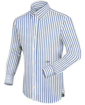 Online Tailor with Button Down
