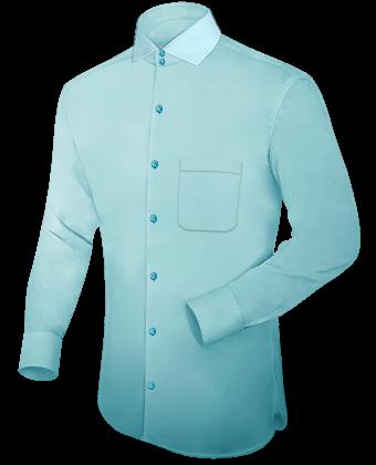 Paris Chemise with Italian Collar 2 Button