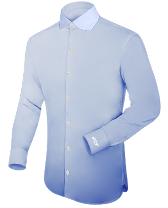 Pince Col Chemise Homme with English Collar