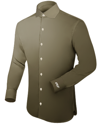 Pochettes Homme Chemise with English Collar