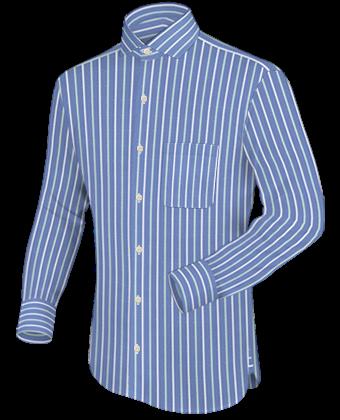 Prefixe Chemise with Italian Collar 1 Button