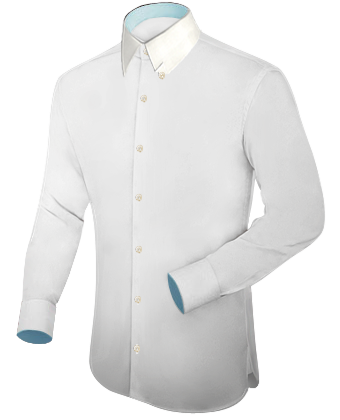 Promotion Chemise with Hidden Button