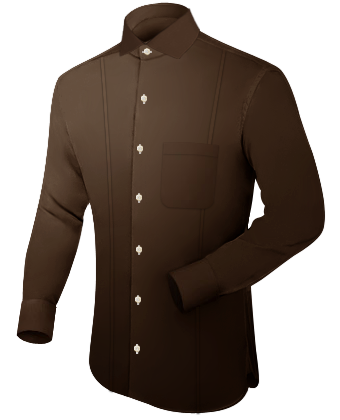 Pure Chemise with Italian Collar 1 Button