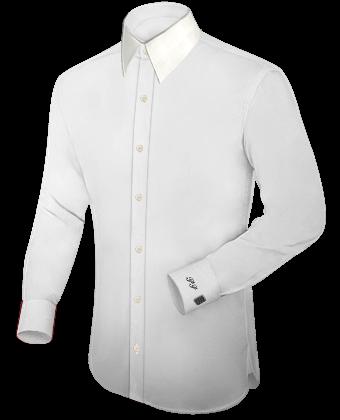 Rechercher Chemises Cintr�es with French Collar 1 Button