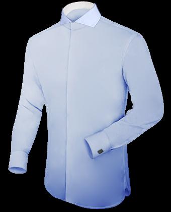 Shirt Tailor with Cut Away 1 Button