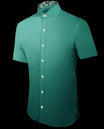 Sur Mesures Des Chemises with Italian Collar 1 Button