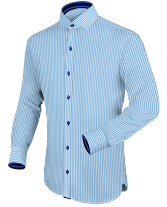 Taille De Chemise Homme with Italian Collar 1 Button