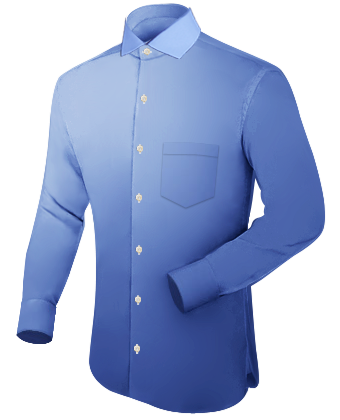 Taille S Chemise Hommes with Italian Collar 1 Button