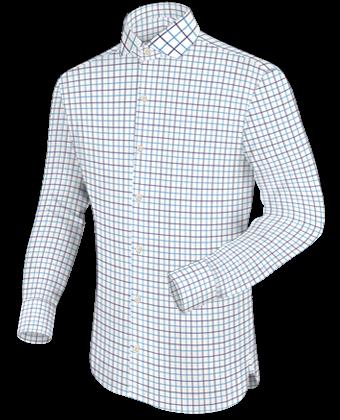 Tailor Chemise Sur Mesure with Italian Collar 1 Button