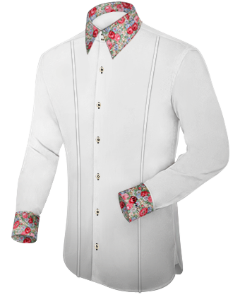Technology Design Chemise with French Collar 2 Button