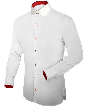 Two Boxs Chemise with Modern Collar