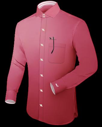 Vente De Chemises En Ligne with Italian Collar 2 Button