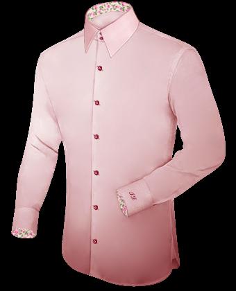 Vente Priv�e De Chemises Italienne with French Collar 2 Button