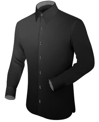 Ventes Chemises Hommes with French Collar 1 Button