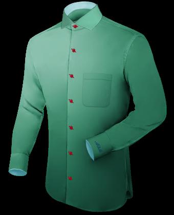 Veste Homme Sur Mesure with Italian Collar 1 Button