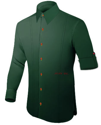 Vestes Homme Sur Mesures with French Collar 1 Button