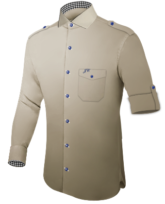 Vestes Sur Mesures with Italian Collar 1 Button
