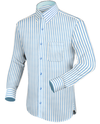 Vetement En Ligne Chemise with French Collar 1 Button