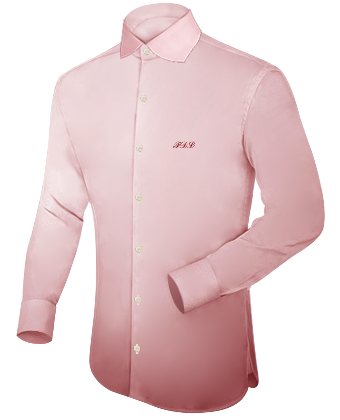 Vetement Homme with English Collar