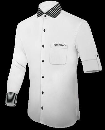 Vetement Pas Cher Pour Homme with Italian Collar 1 Button