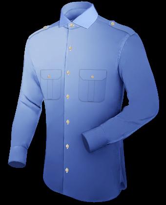 Vetements Sur Mesure Homme with Italian Collar 1 Button