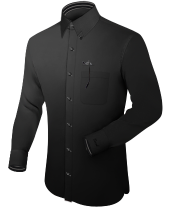 Costume Gris with Hidden Button