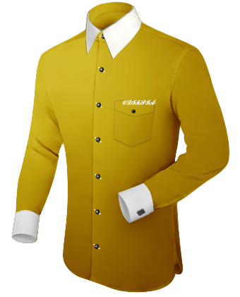 Costume Pas Cher with French Collar 1 Button