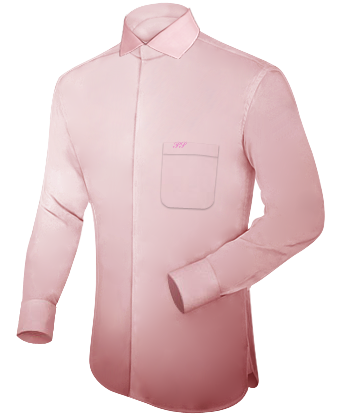 Chemises Mode with Italian Collar 1 Button