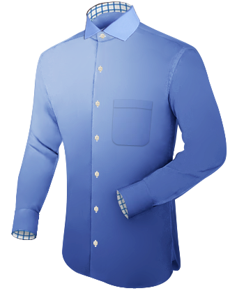 Magasin Pour Chemise Lyon with Italian Collar 1 Button