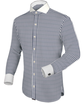 Chemise Pour Homme with Cut Away 1 Button