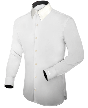 Chemise Homme Pas Cher with French Collar 1 Button
