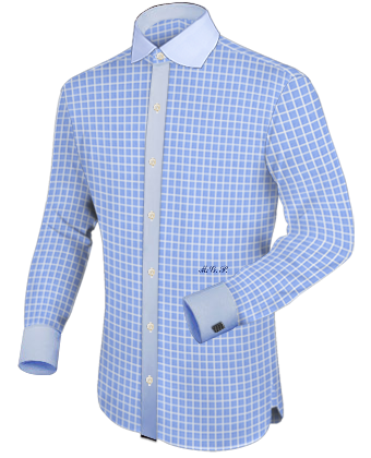 Model Chemise with English Collar