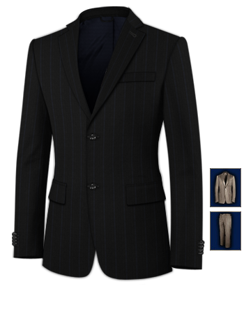 Costumes Cl�mont with 2 Buttons, Single Breasted