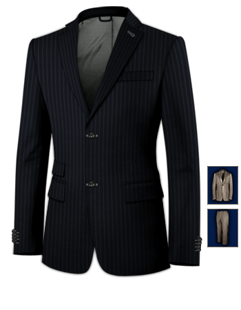 Costume Pour Mariage Paris with 2 Buttons, Single Breasted
