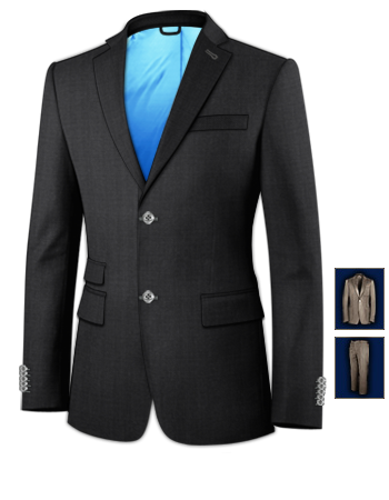 Costume Homme Mariage Pas Cher Creuse with 2 Buttons, Single Breasted