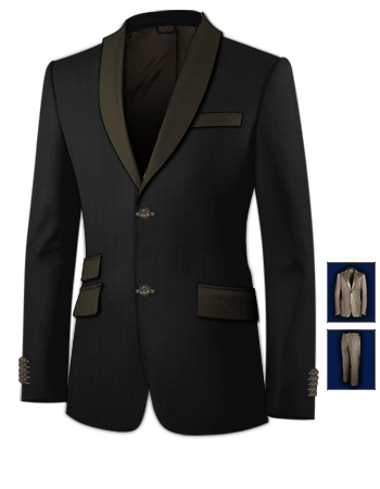 Costume S�cession with 2 Buttons, Single Breasted