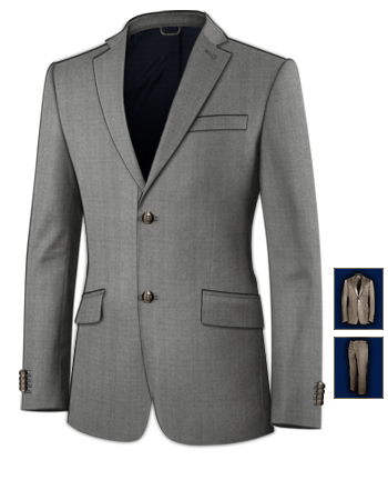 Acheter Costume Homme Couleur Or with 2 Buttons, Single Breasted