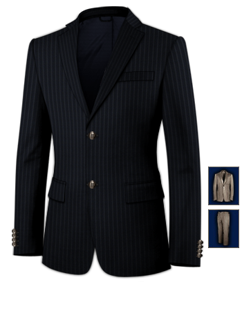 Costume Homme Lyon with 2 Buttons, Single Breasted