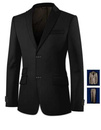 Vente Costume Homme with 2 Buttons, Single Breasted