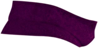 Purple Back Collar